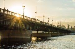pont d'EL le Nil de kasr Image stock