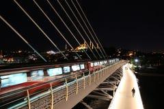 Pont d'or en métro de klaxon à Istanbul, Turquie Image libre de droits