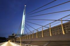 Pont d'or en métro de klaxon à Istanbul, Turquie Image stock