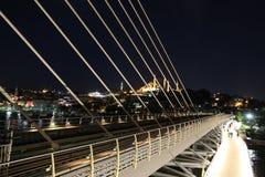 Pont d'or en métro de klaxon à Istanbul, Turquie Photo stock