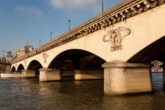 Pont d'Iena, Paris Stock Photography