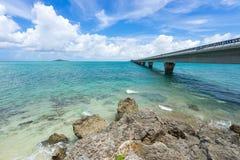 Pont d'Ikema Photos libres de droits