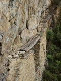Pont d'Inca dans Machu Picchu, Pérou images libres de droits