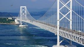 Pont d'Onaruto au Japon images stock