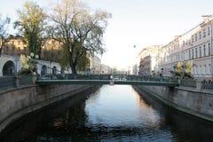 Pont d'opérations bancaires Photographie stock