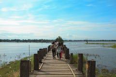 Pont d'U-Ben Images stock
