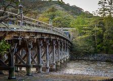 Pont d'Uji d'Ise Grand Shrine photographie stock