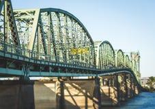 Pont 5 d'un état à un autre à Portland, Orégon Images stock