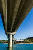 Pont dans Cingoli Marche Italie Images libres de droits