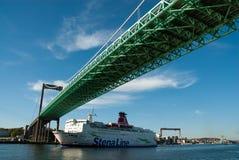 Pont dans Göteborg Suède photo libre de droits