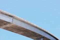 Pont dans le ciel Photographie stock