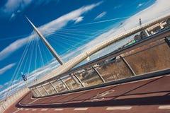 Pont dans Pescara Photos libres de droits