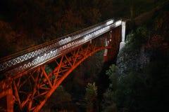 Pont dans Prolom Banja serbia images stock