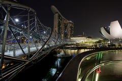 Pont dans Singpore Image stock