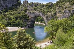 Pont dArc Royalty Free Stock Photos