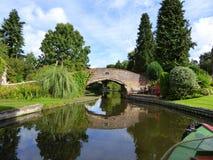 Pont de approche de cheval de Whittington Photos stock