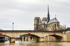 Pont de Archeveche Royalty Free Stock Image