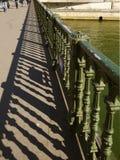 Pont de Arcole, Париж Стоковое Изображение RF