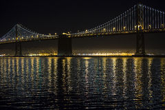 Pont de baie Photographie stock libre de droits