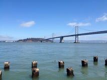 Pont de baie photo stock