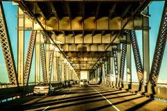 Pont de baie d'Oakland Images stock