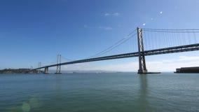 Pont de baie d'Oakland banque de vidéos