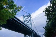 Pont de Benjamin Franklin Image libre de droits