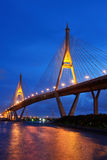 Pont de Bhumibol Photo stock