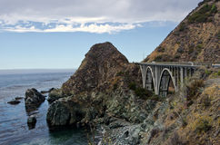 Pont de Big Sur Photos libres de droits