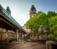 Pont de Bir-Hakeim fotografia stock libera da diritti