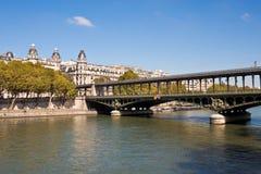 Pont de Bir-Hakeim Royalty Free Stock Image