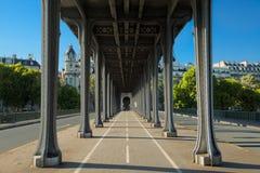 Pont de Bir-Hakeim Stock Images
