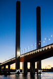 Pont de Bolte au crépuscule Images stock