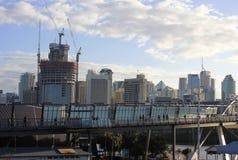Pont de bonne volonté, Brisbane Photographie stock