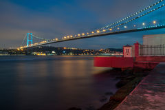 Pont de Bosphorus - Istanbul Photographie stock libre de droits