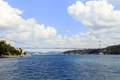 Pont de Bosphorus, Istanbul, Turquie Photo stock
