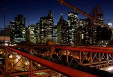 Pont de Brooklin Photos stock