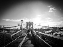 Pont de Brookling Photographie stock