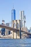 Pont de Brooklyn à New York Photos libres de droits