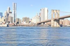 Pont de Brooklyn à New York Image libre de droits