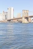 Pont de Brooklyn à New York Photo libre de droits