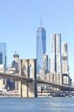 Pont de Brooklyn à New York Images stock