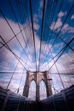 Pont de Brooklyn Image libre de droits