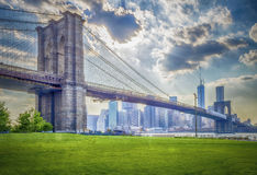 Pont de Brooklyn Photographie stock