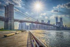 Pont de Brooklyn Photographie stock