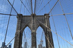 Pont de Brooklyn Image stock