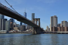 Pont de Brooklyn Images libres de droits