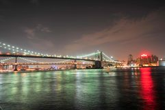 Pont de Brooklyn - New York City Photographie stock libre de droits