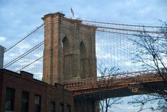Pont de Brooklyn - New York City Photos libres de droits