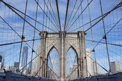 Pont de Brooklyn NYC Photos libres de droits